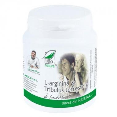 L-arginina si Tribulus Terrestris 60 capsule