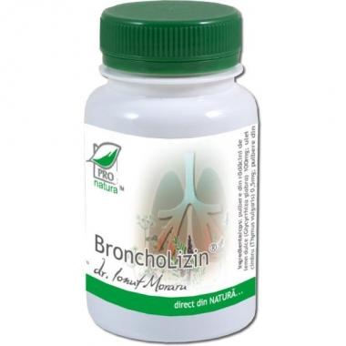 BRONCHOLIZIN 60 CPS