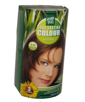 Henna Plus Long Lasting Colour- Vopsea de Par Nuanta 6.35