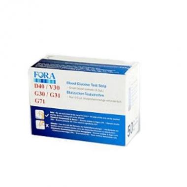 Teste Glicemie Fora BioExpert, 50 buc