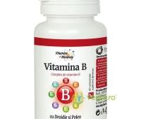 Vitamina B Cu Drojdie Si Polen 60Cpr