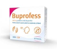 Buprofess 400 mg, 10 plicuri