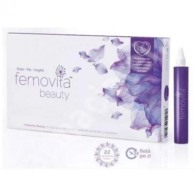 Femovita Beauty, 10 fiole buvabile x 10 ml