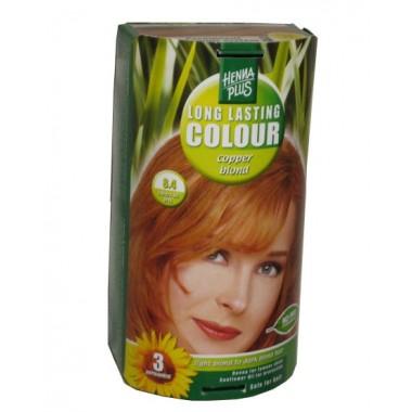Henna Plus Long Lasting Colour- Vopsea de Par Nuanta 8.4