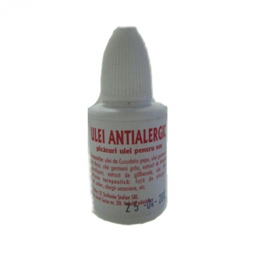 Ulei Antialergic Stefania Stefan, 20 ml