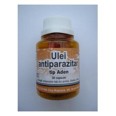 Ulei antiparazitar, tip aden 30cps STEFANIA STEFAN
