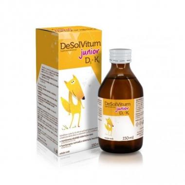 DeSolVitum Junior D3+K2 sirop, 150 ml, Aflofarm