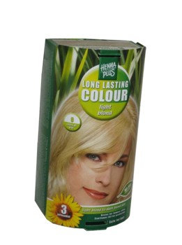 Henna Plus Long Lasting Colour- Vopsea de Par Nuanta 8