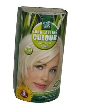 Henna Plus Long Lasting Colour- Vopsea de Par Nuanta 10.00