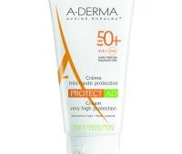 Crema pentru rotectia solara a pielii atopice cu SPF 50+, 150 ml, A-Derma Protect AD
