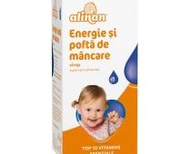 Alinan Energie și poftă de mâncare, sirop, 150 ml, Fiterman