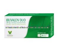 Ibuvalen Duo 200 mg/12,8 mg, 20 comprimate filmate, Polisano