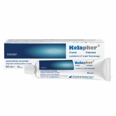 KELAPHER crema tratament echimoze, hematoame cu nano-lactoferina 15%, 50 ml, Solartium Group