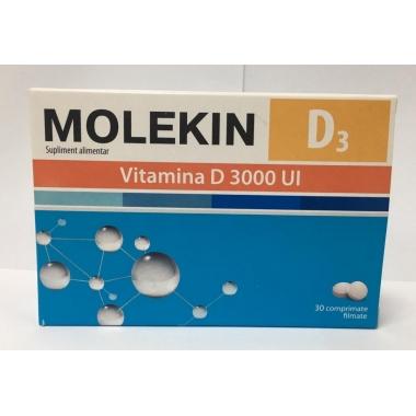 MOLEKIN D3 3000UI 30CPR