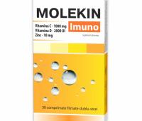 Molekin Imuno, 30 comprimate, Zdrovit