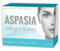 Aspasia Collagen Beauty, 28 flacoane