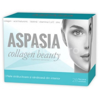 Aspasia Collagen Beauty, 28 flacoane