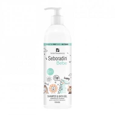 Șampon și gel de duș 2 in 1 Seboradin Bebe, 500 ml