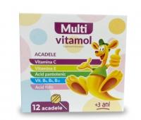 Multi-Vitamol x 12 acadele (de la 3 ani)