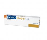 Biazol 10 mg/g cremă, 15g