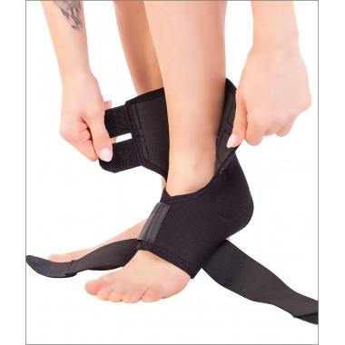 Orteză de gleznă mobilă cu suport elastic