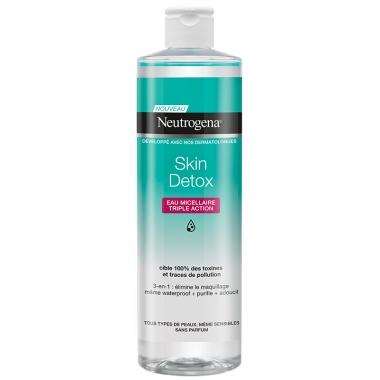 Neutrogena SKIN detox apa micelara, 400 ml