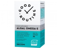 Algal Omega-3 Good Routine, 30 capsule