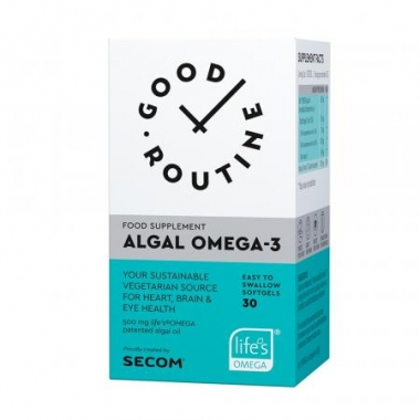 Algal Omega-3 Good Routine, 30 capsule