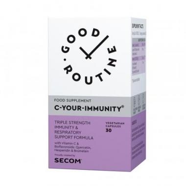 C-Your-Immunity Good Routine, 30 capsule