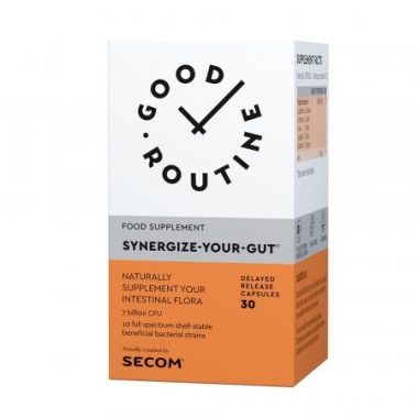 Synergize Your Gut Good Routine x 30 capsule