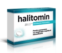 Halitomin, 20 comprimate