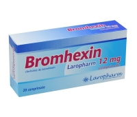 BROMHEXIN 12MG X 20CPR