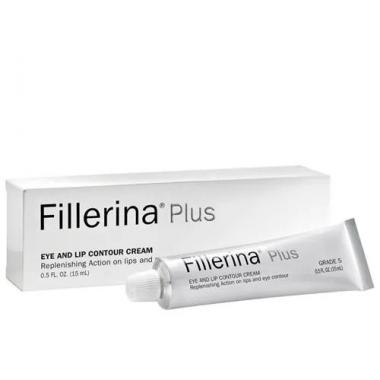 Crema contur ochi si buze Fillerina Plus, Grad 5, 15 ml, Labo