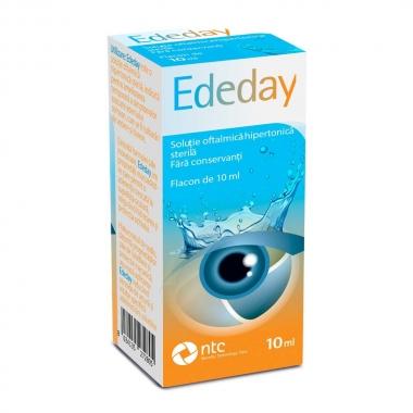 Ededay -solutie oftalmica hipertonica x 10 ml