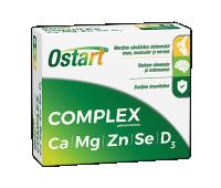 Ostart Complex Ca+Mg+Zn+Se+D3 x 20 cpr
