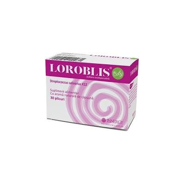 Loroblis Baby pulbere orosolubila 30 plicuri