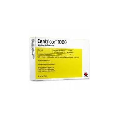 Centricor 1.000mg, 20 comprimate