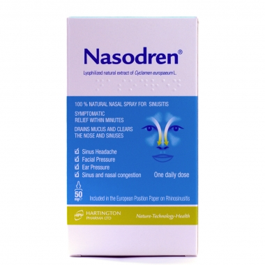 Spray nazal Nasodren, 50 ml, Hartington Pharma