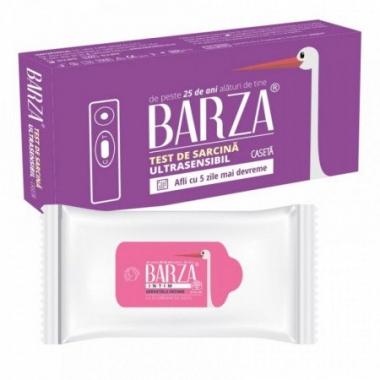 TEST SARCINA BARZA ULTRASENSIBIL STILOU + SERV INTIMIME CU BICARBONATGRATIS