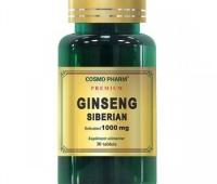 GINSENG SIBERIAN 1000MG 60CPR+30CPS GRATIS