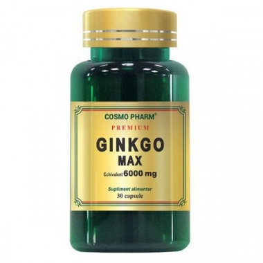 GINKGO MAX EXTRACT 60CPS + 30CPS GRATIS