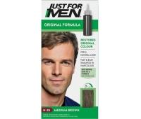 Sampon colorant pentru bărbati, fără amoniac Just For Men H - 35 saten medium