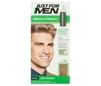 Sampon colorant pentru bărbati, fără amoniac Just For Men H - 25 saten deschis