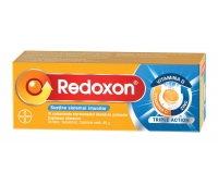Redoxon Triple Action, 10 comprimate efervescente, Bayer