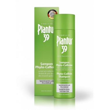 Plantur 39 Șampon Phyto-caffeine păr fin x 250 ml
