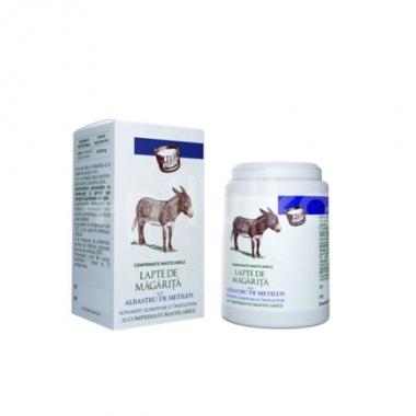 Lapte de magarita cu albastru de metilen, Sintofarm, 20 comprimate masticabile