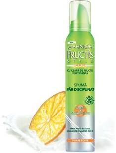 Garnier Fructis Style Spuma Drept si Stralucitor