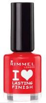 Rimmel I Love Lasting Finish Red Decker lac unghii