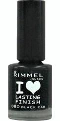 Rimmel I Love Lasting Finish Black Cab lac unghii