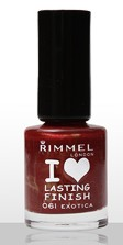 Rimmel I Love Lasting Finish Exotica lac unghii